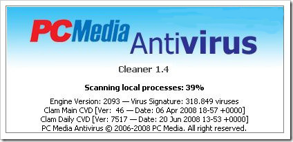 Download Antivirus PCMAV 1.4