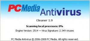 Download Antivirus PCMAV 1.9