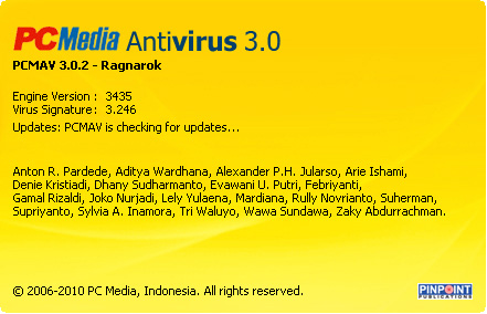 Download Antivirus PCMAV 3.0.2